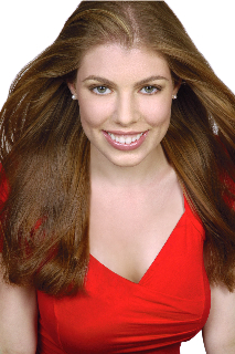Leandra Ramm picture, wearing red dress frontal middle Close Up Take One