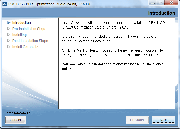 ibm ilog cplex optimization studio v12.2