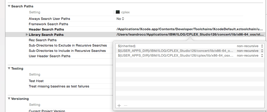 How to: Configure IBM CPLEX with Apple Xcode - Prof  Leandro C