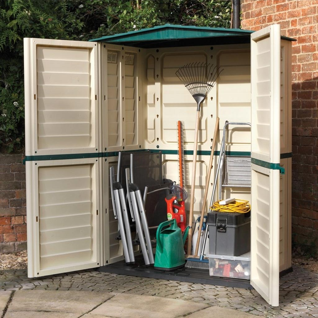 Plastic Garden Sheds  Reviewed  Lean Green Home