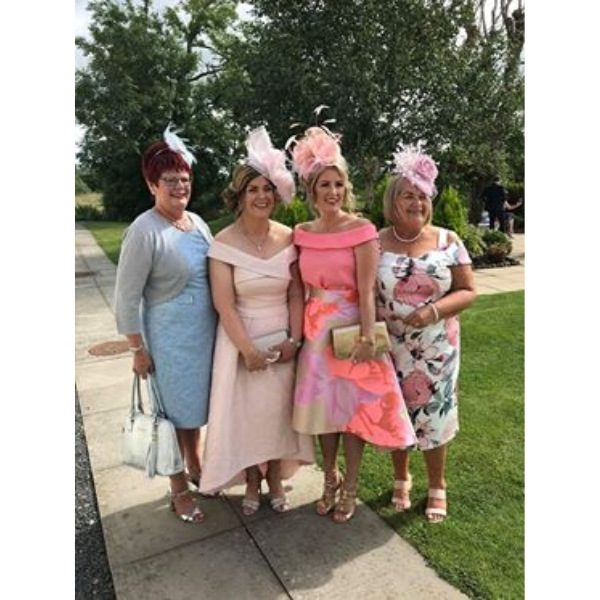 Variations on fascinators all made to order for mother of the groom, mother of the bride and wedding guests