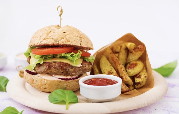 Fakeaway Burgers and Chips