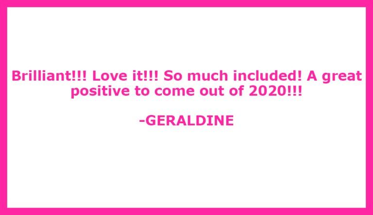 Testimonial Geraldine