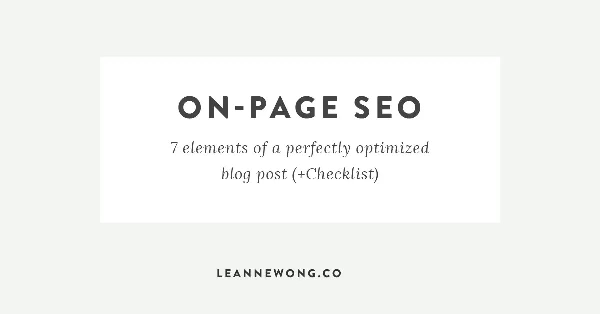on-page-SEO-blog-post
