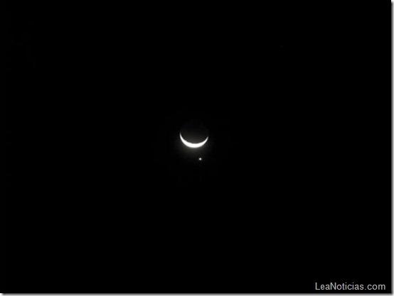 Luna y venus 5