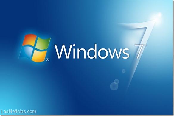 Microsoft planea jubilar Windows 7 en el 2015