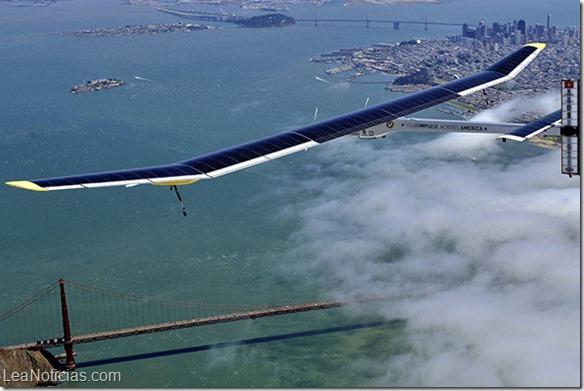 Avión solar reanuda la vuelta al mundo