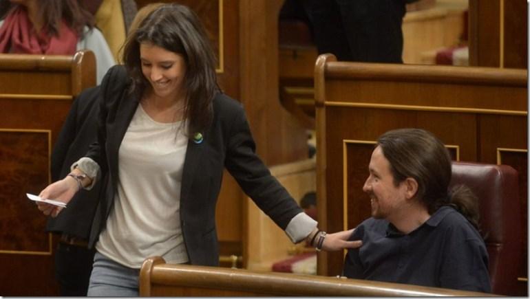 Irene-Montero-Pablo-Iglesias-Podemos-Venezuela