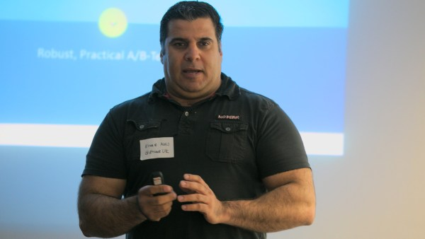 Ethar Alali at Lean Startup Yorkshire