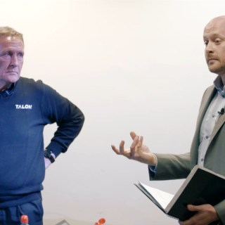 Matt and Paul Hulbert at Lean Startup Yorkshire