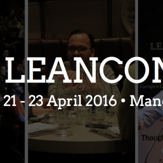 Leanconf discount for Lean Startup Yorkshire community