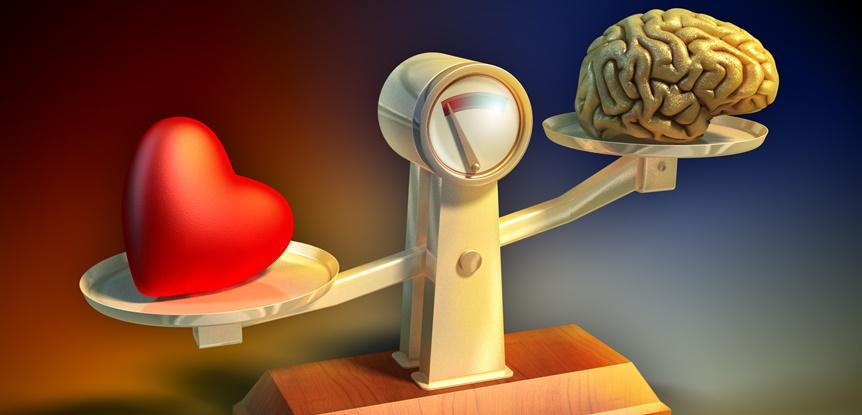 Inteligência emocional. Emoção versus razão.