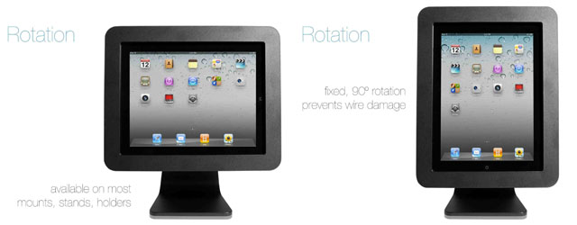iPad Enclosure cover kiosk
