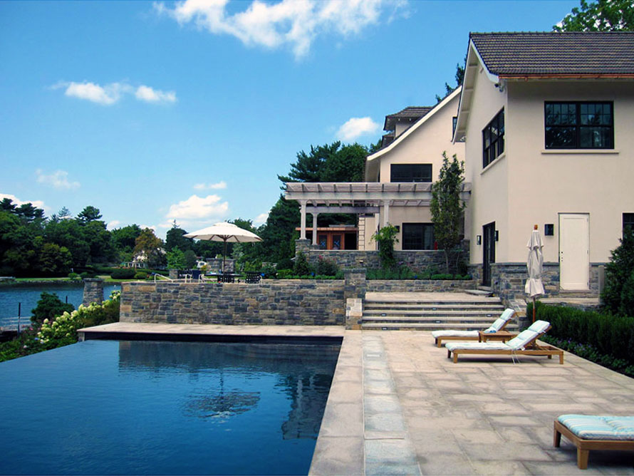 Long Island Sound Luxury Renovation LEAP Architecture