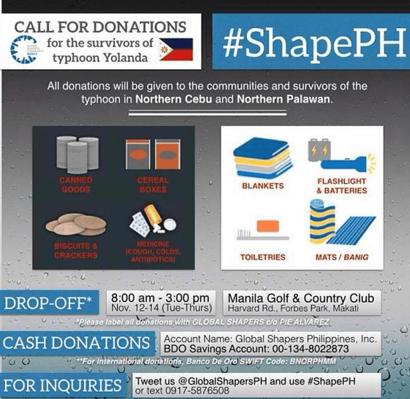 Sample letter of solicitation for donations typhoon victims shapeph for donations helping the victims of typhoon spiritdancerdesigns Image collections