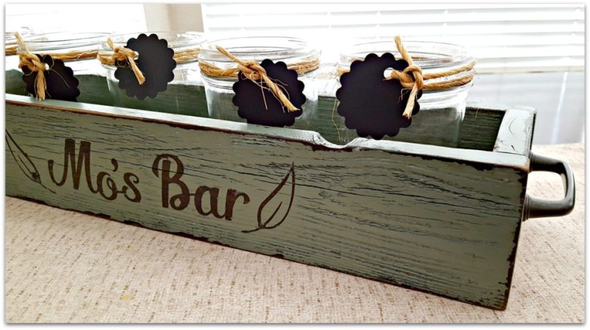 rustic bar decor