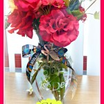 Glass Etching Vase Tutorial