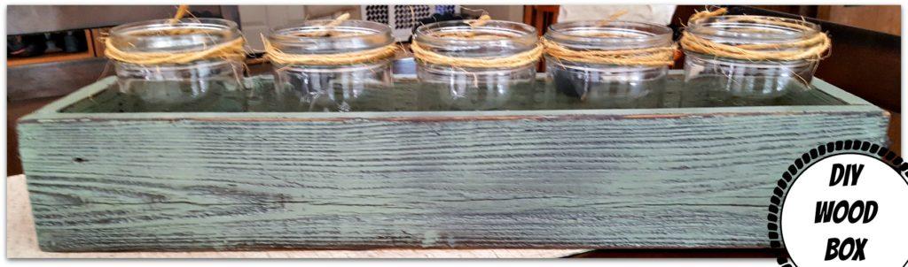 distressed wood box