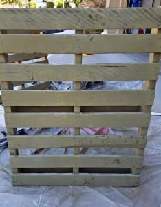 paint pallet wood