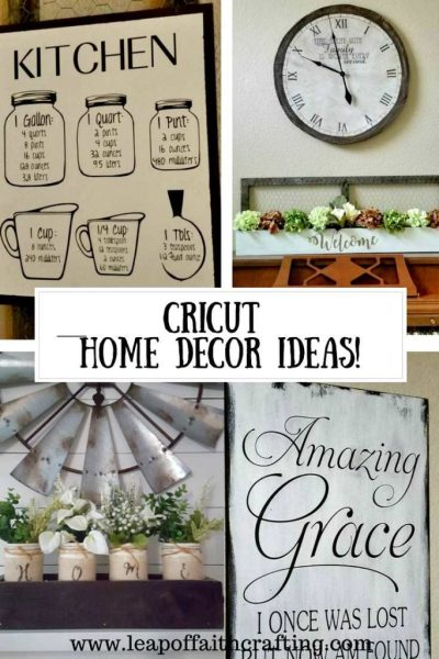 cricut home decor Beautiful and Elegant Cricut Home Decor! - Leap of Faith