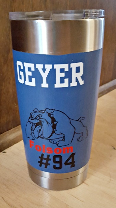 How To Paint A Yeti Cup Or Ozark Tumbler Easily Leap Of