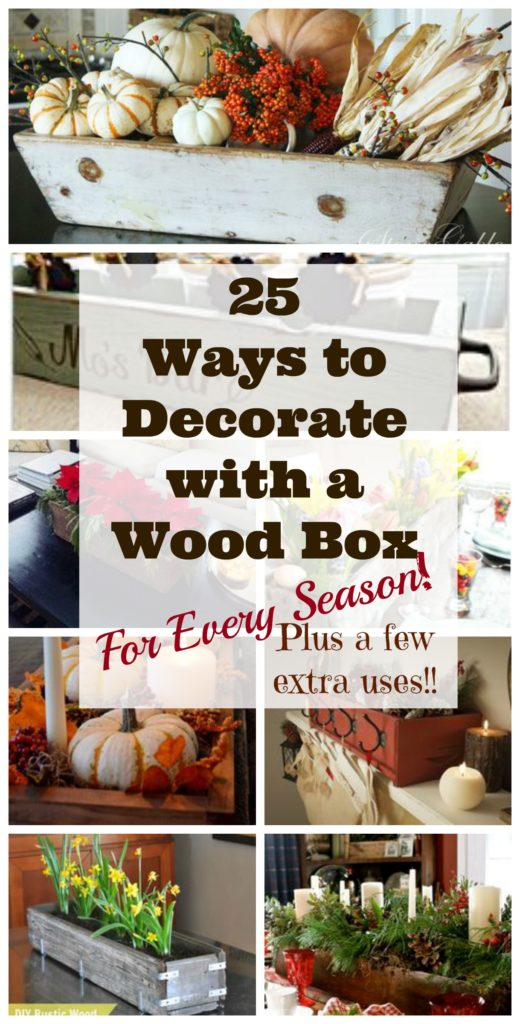 The Ultimate Roundup Of Wooden Box Decorating Ideas Leap Of Faith Impressive How To Decorate Wooden Boxes