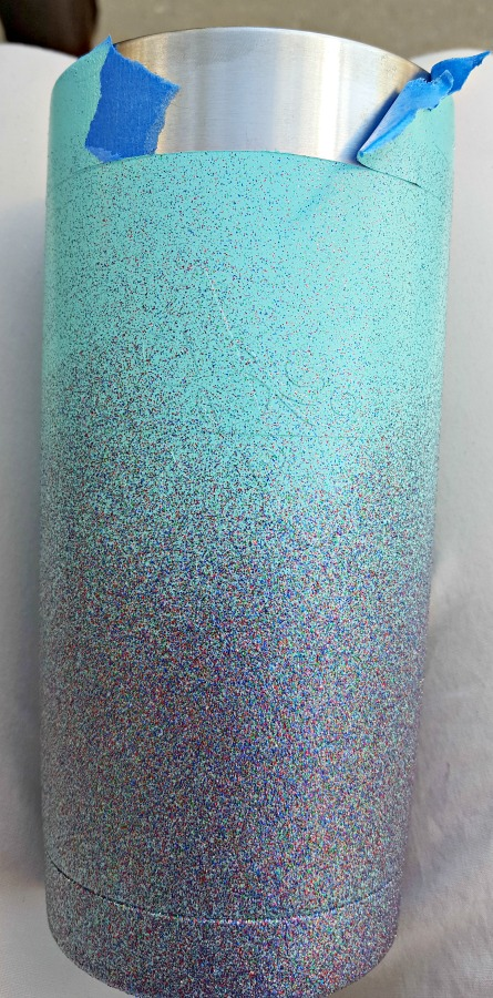spray paint glitter ozark