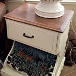 Turning a Nightstand into Farmhouse Style