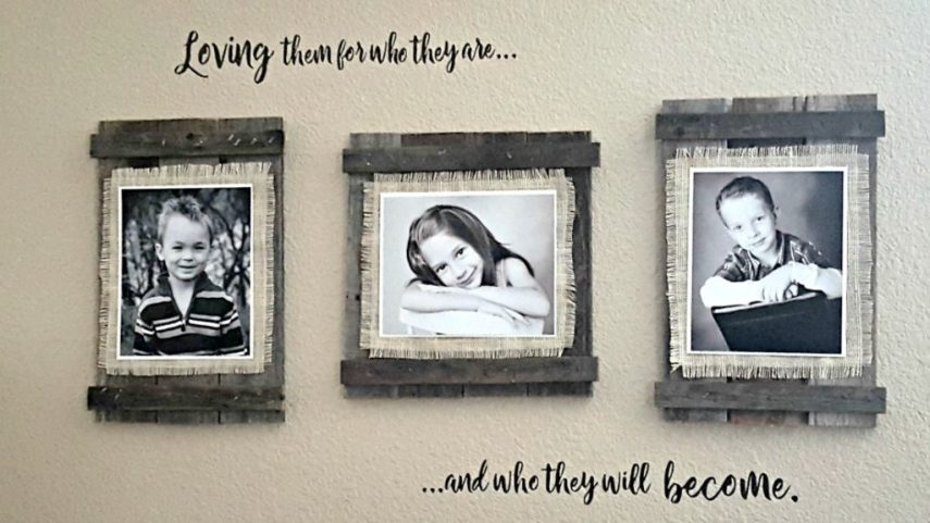 Rustic Frames Are So Easy And Cheap To Make Learn How Leap Of