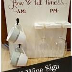 DIY Wine Sign Tutorial