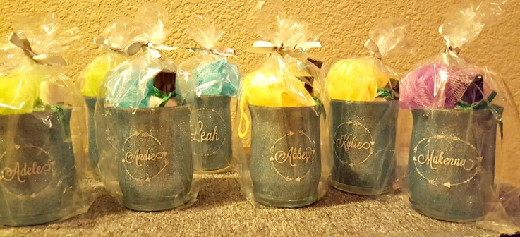 DIY 13th birthday party favors