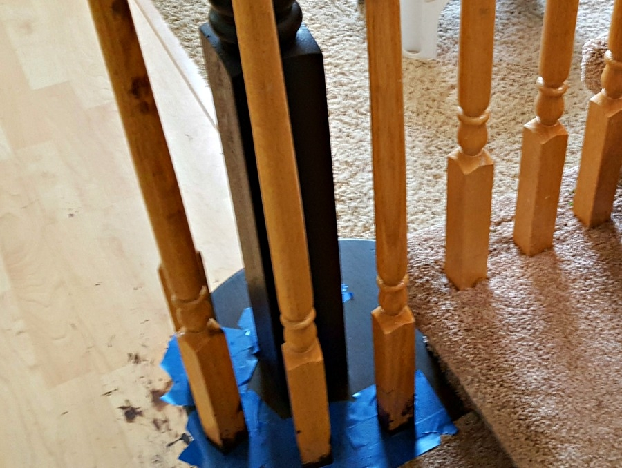 Staircase Refinishing The Easy Way And For Under 50 Leap Of | Cost To Refinish Wood Railing | Stair Treads | Interior | Gel Stain | Paint | Balusters
