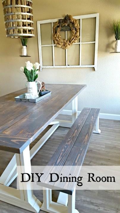 Ana White DIY farmhouse table