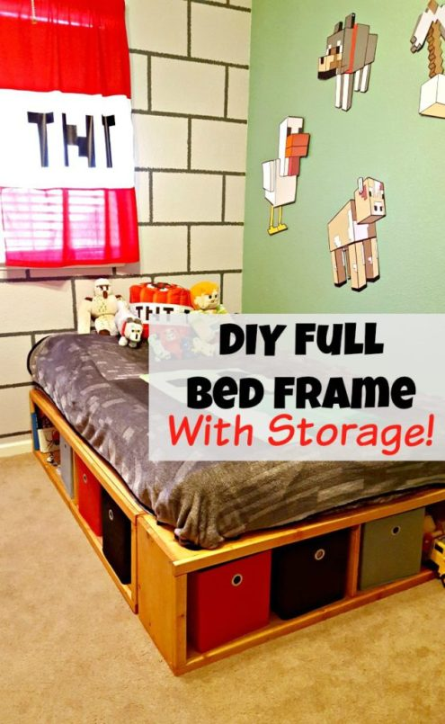 full bed queen awesome platform frames storage with underneath size bedroom base frame drawers double useful headboard and