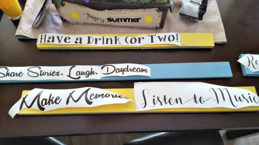 how to make wooden signs with quotes