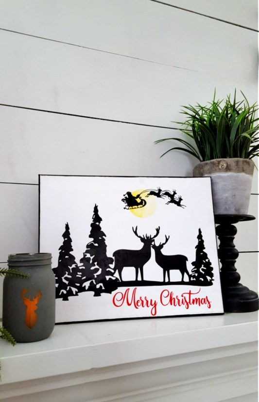 cricut project ideas Christmas