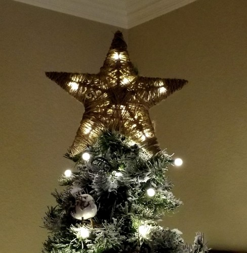 diy tree topper - How To Make A Christmas Tree Topper