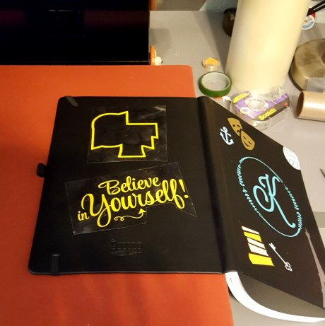 DIY personalized journal
