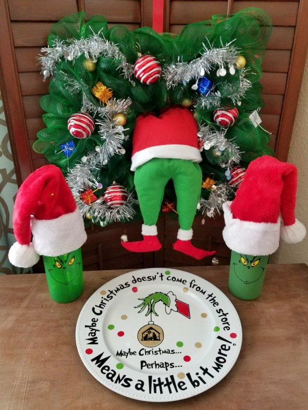 grinch christmas decorations