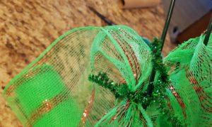 DIY Grinch Tree Wreath Tutorial