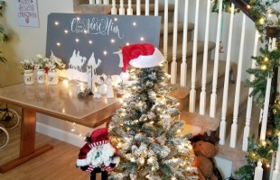 Christmas Home Tours – Part 1