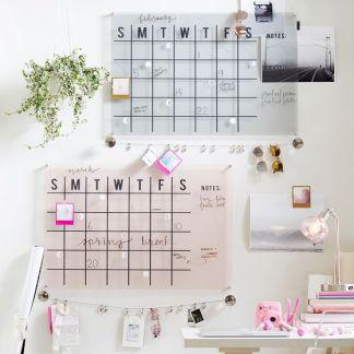 acrylic monthly calendar c