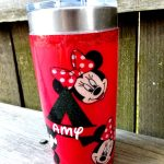 DIY Fabric Disney Tumbler!