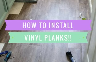 Peel and Stick Planks are Beautiful and So Easy to Install!!