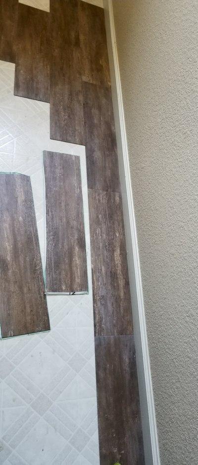 peel and stick wood planks