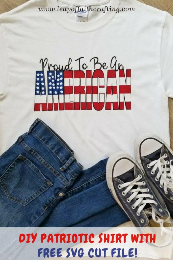 patriotic tee shirt diy pin