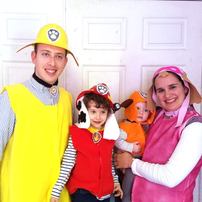 family themed costumes diy