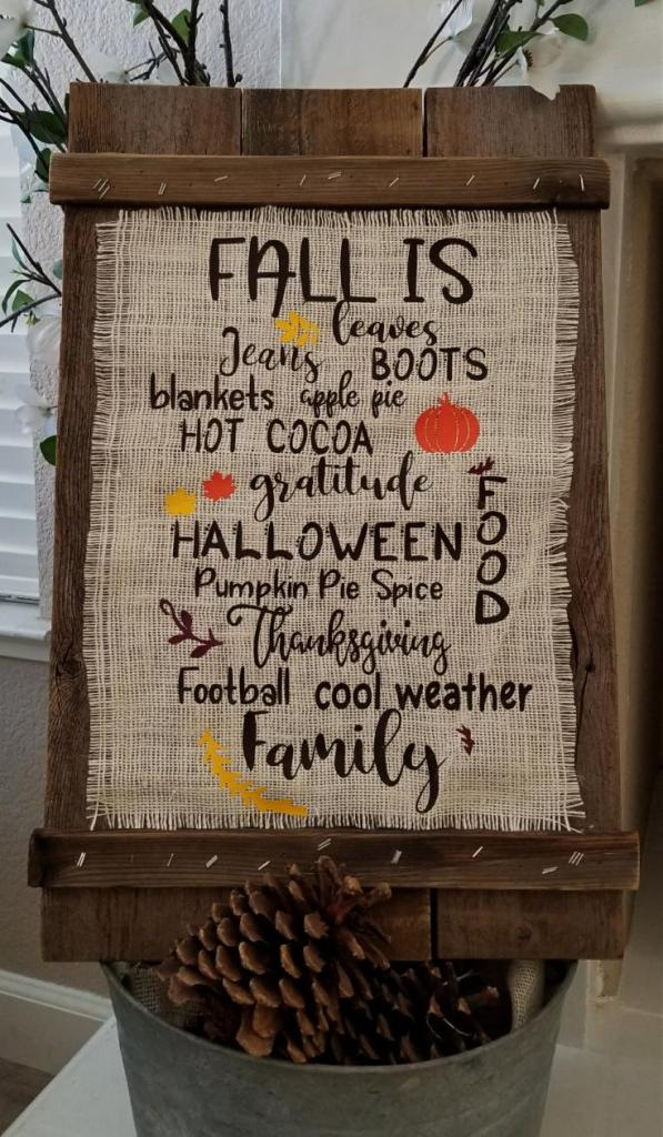 Fall Cricut Projects