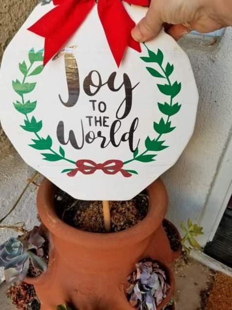 wood christmas ornaments