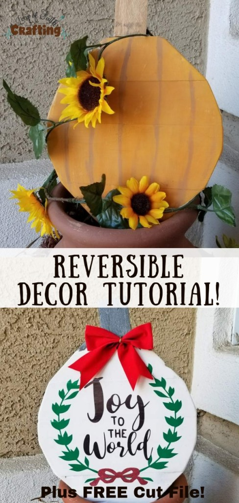 wooden decorations pin